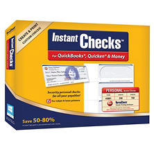 Instant Checks: Personal Wallet - Blue 250 pk.