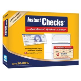 Instant Checks: Personal Wallet - Blue 250 pk.