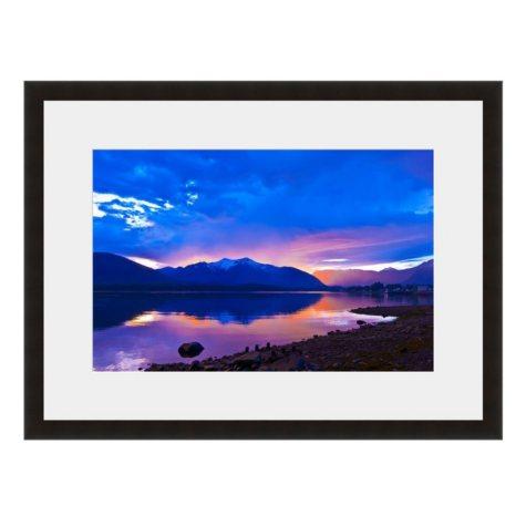 Framed Fine Art Photography - Mirror Lake Mountain Morning By Blaine Harrington