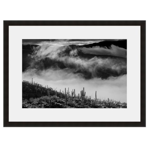 Framed Fine Art Photography - High Desert Drama By Howard Paley
