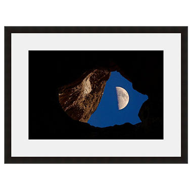 Framed Fine Art Photography - Half Moon Cave By Howard Paley