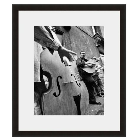 Framed Fine Art Photography - Jazz on the Corner by Seth Wolfson