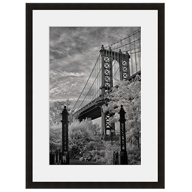 Framed Fine Art Photography - Manhattan Bridge by Vincent Versace
