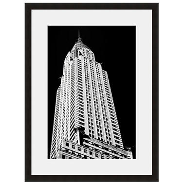 Framed Fine Art Photography - Chrysler Building Skyward by Vincent Versace