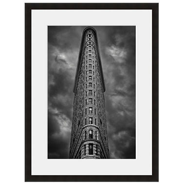 Framed Fine Art Photography - Flatiron Building Gotham at Night by Vincent Versace