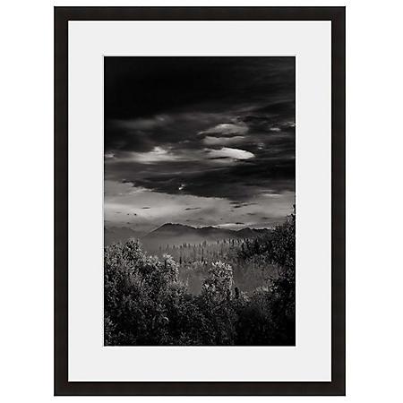 Framed Fine Art Photography - Distant Desert Mountains by Vincent Versace