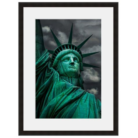 Framed Fine Art Photography - Lady Liberty in Color by Vincent Versace