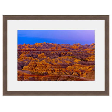 Framed Fine Art Photography - Painted Desert Vista By Blaine Harrington