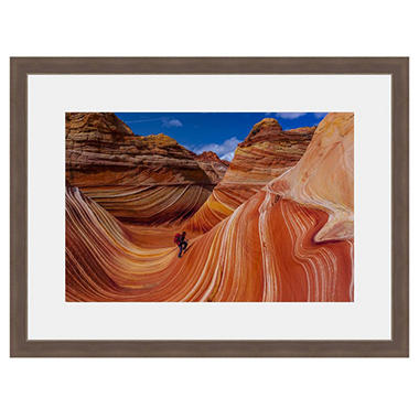 Framed Fine Art Photography - Desert Wave By Blaine Harrington