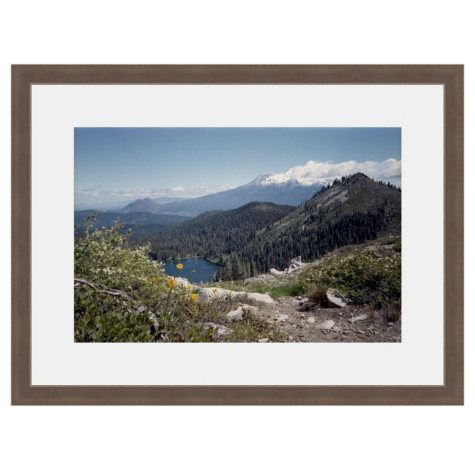 Framed Fine Art Photography - Mountain Lake Overlook by Kevin Russ