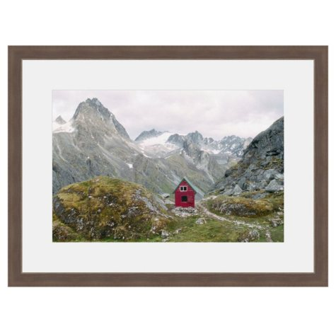 Framed Fine Art Photography - High Mountain Retreat by Kevin Russ