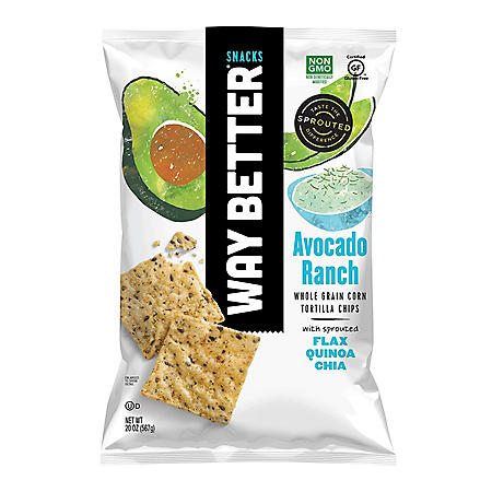 Way Better Snacks Avocado Ranch Chips (20 oz.)
