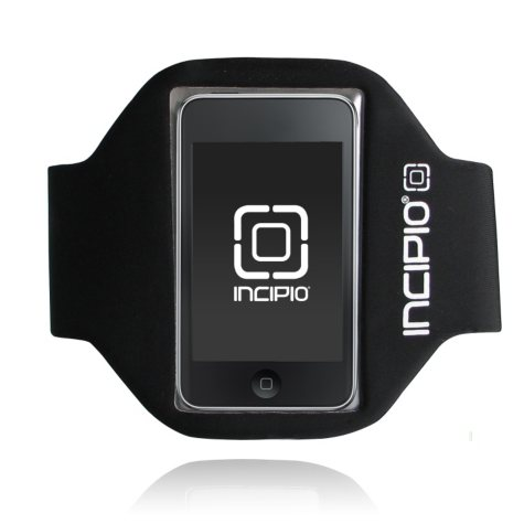 Incipio iPod touch 2G Sport Armband- Black (Short)