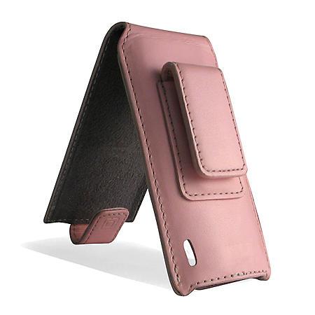 Incipio iPod nano 5G Stilo Leather Flip Case- Pink