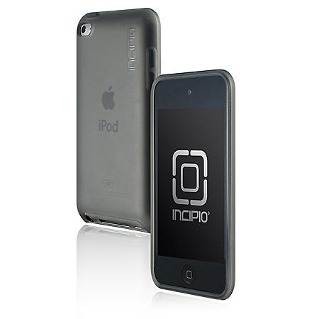 Incipio iPod touch 4G NGP Semi-Rigid Soft Shell Case- Gray