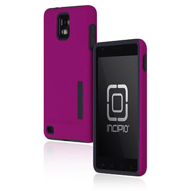 Incipio Samsung Infuse 4G SILICRYLIC Hard Shell Case - Purple/Gray