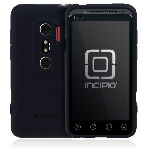 Incipio HTC EVO 3D NGP Semi-Rigid Soft Shell Case - Black