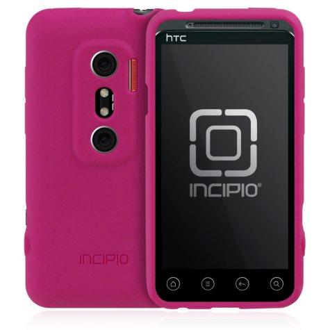 Incipio HTC EVO 3D NGP Semi-Rigid Soft Shell Case - Magenta