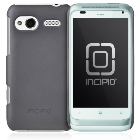 Incipio HTC Radar 4G feather ultralight Hard Shell Case-Gray