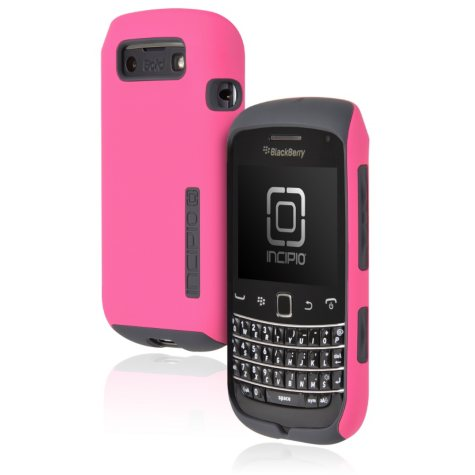 Incipio BlackBerry Bold 9790 SILICRYLIC Hard Shell Case - Pink/Gray