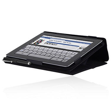 New iPad Premium Kickstand Case - Black