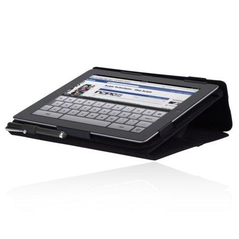 New iPad Premium Kickstand Case - Black