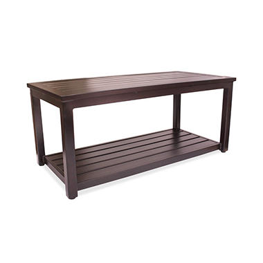 Outdoor Aluminum Side Table, 20