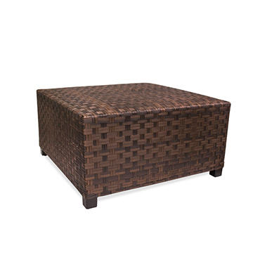Outdoor Wicker Coffee Table With Storage Sam 39 S Club