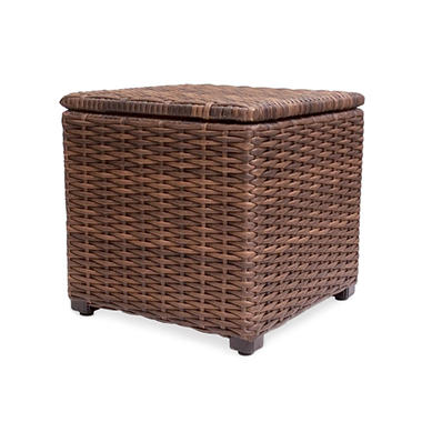 Outdoor Wicker Side Table With Storage Sams Club - All weather wicker side table