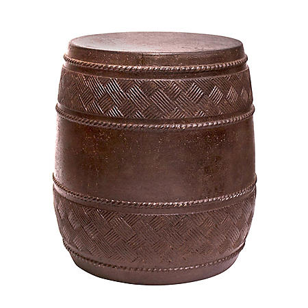 Cast Stone Drum Table, Vittorio