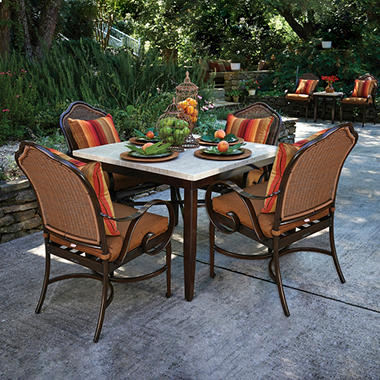 Westwood 5-Piece Dining Set By Peak Season