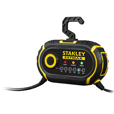 Stanley Fatmax Multi-Vehicle Battery Charger and Maintainer