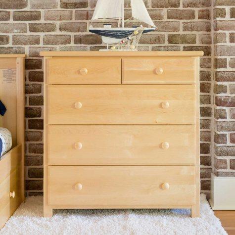 5-Drawer Dresser (Assorted Colors)