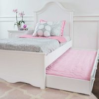 Charleston Bed with Trundle Bed