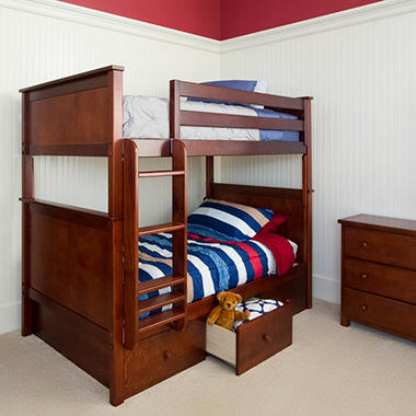 Storage Bunk Bed Assorted Colors Sam S Club
