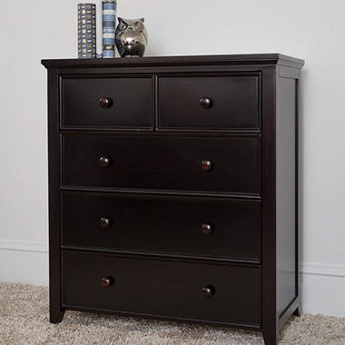 Cottage 5-Drawer Dresser, Espresso