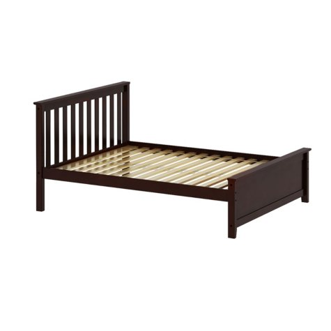 Max & Lily Solid Wood Full-Size Bed (Assorted Colors)