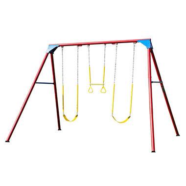 lifetime 10foot swing set primary - Lifetime Adventure Tower Playset
