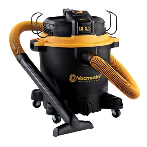 Vacmaster 12-Gallon 5.5 HP Beast Series Wet / Dry Vacuum