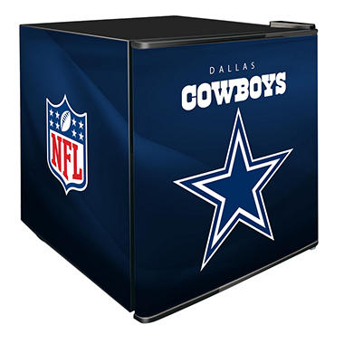 NFL Solid Door 1.8-cu. ft. Refrigerated Beverage Center (Choose Your Team)