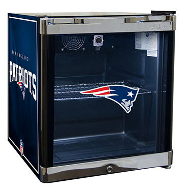 NFL Glass Door 1.8-cu. ft. Refrigerated Beverage Center (Choose Your Team)