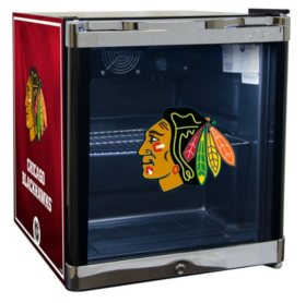 NHL Glass Door 1.8-cu. ft Refrigerated Beverage Cooler (Choose Your Team)