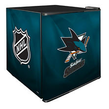 NHL Solid Door 1.8-cu. ft. Refrigerated Beverage Center (Choose Your Team)