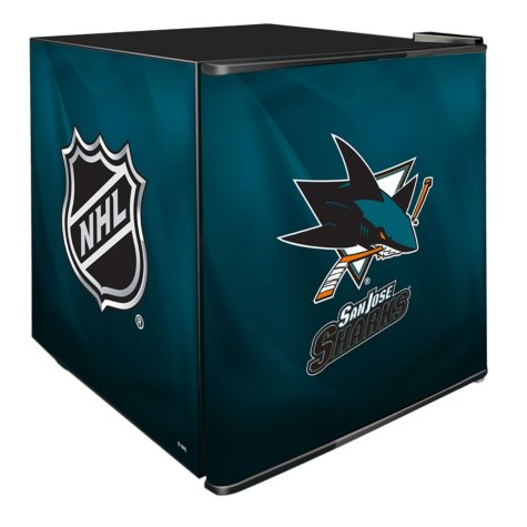 NHL Solid Door 1.8-cu. ft. Refrigerated Beverage Center (Choose Your Team)