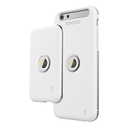 360° Stacked Speed Case Bundle for iPhone 6/6s (White/Space Gray)