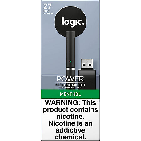 Logic Power Rechargeable Kit Menthol 27 mg/ml