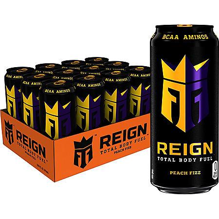 Reign Total Body Fuel, Peach Fizz (16 oz./12 pk.)
