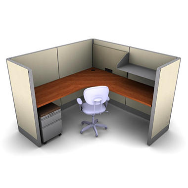 SNAP!Office - 1-Person Task Workstation - Gap Swing Color Combo