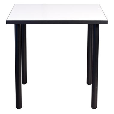 SNAP!office - Square Write Table with Post Legs - White - 36