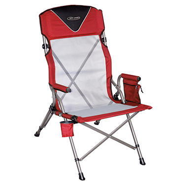 Drift Creek High Back Ergo Folding Chair Sam S Club